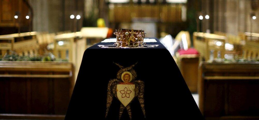 Inglise kuningas Richard III saab 530 aastat hiljem aukohase ärasaatmise