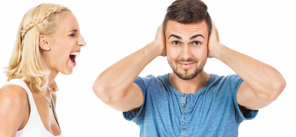 Mees on vihane: kust ma pean võtma aja naisi muudkui kuulata ja kuulata?