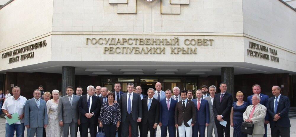 Prantsuse välisministeerium: Krimmi külastav Prantsuse delegatsioon ei esinda riiki ega parlamenti