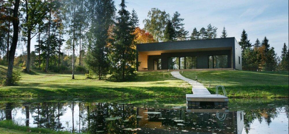 Oma saarega vesiveski või moodne maja järve kaldal? Vaata unistuste suvekodusid Tartu- ja Valgamaal