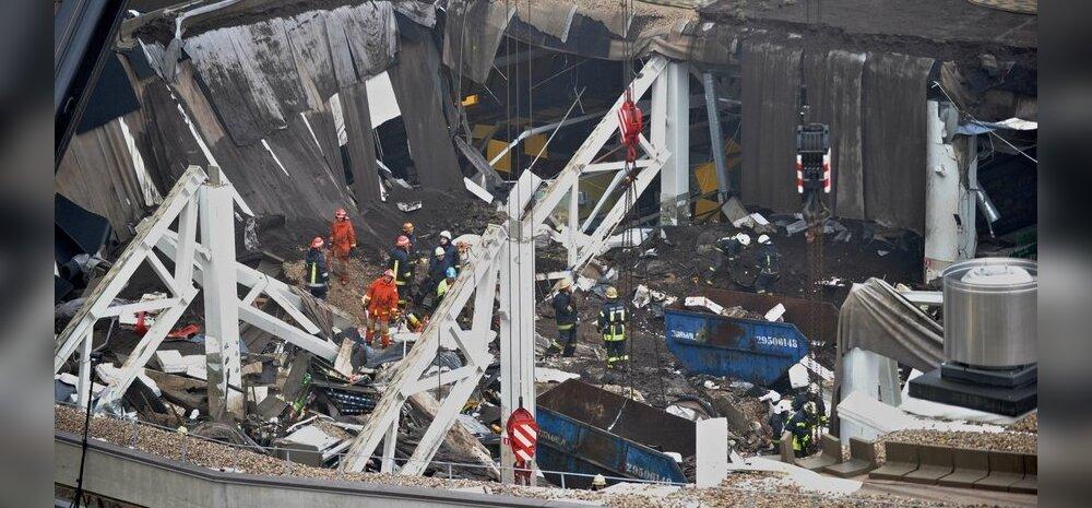 FOTOD: Riia Maxima katus enne ja pärast katastroofi