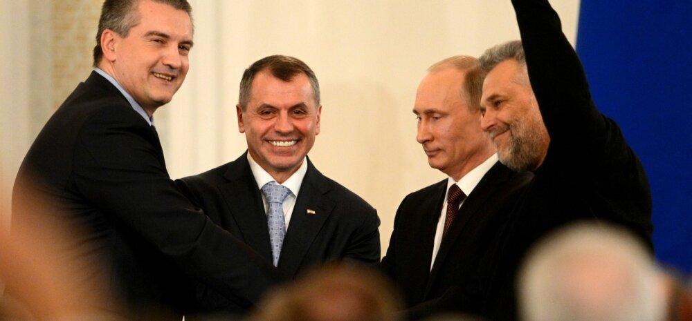Aksjonov: Ukraina võiks Krimmi teemal viimaks suu kinni panna