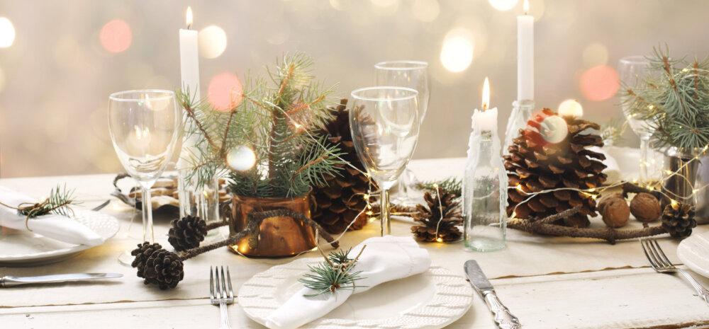 FOTOD | Kata pühadeks meeldejäävalt kaunis laud — 20 ideed!