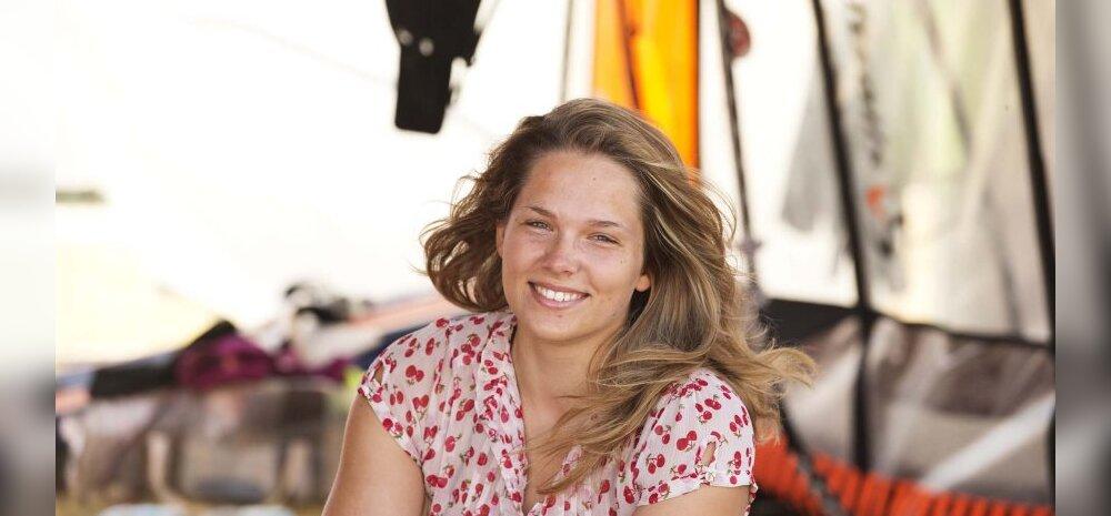 Annika Valkna, purjelaudur