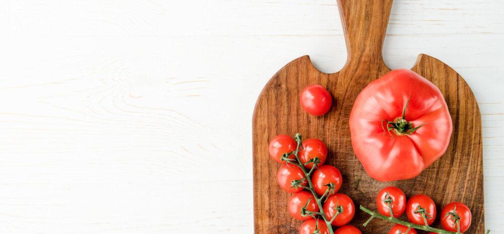 Kerge amps: tomati-virsikusalati RETSEPT