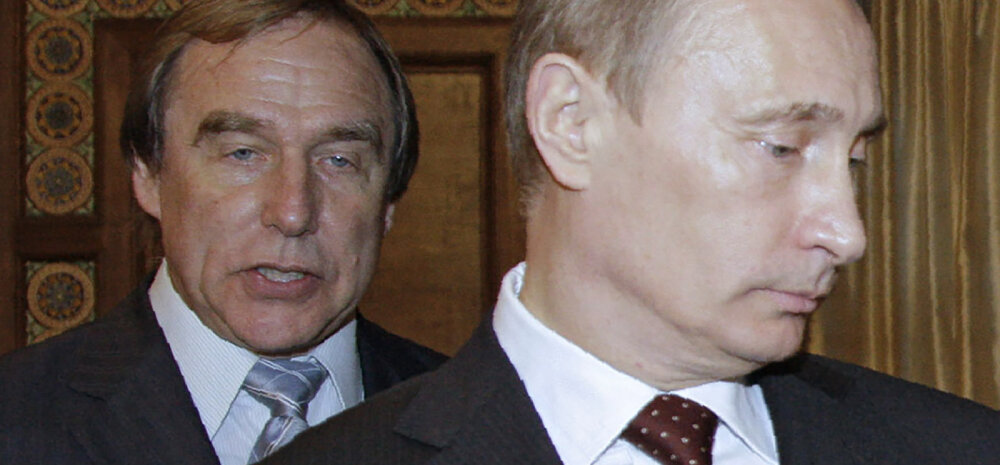 Sergei Roldugin ja Vladimir Putin.