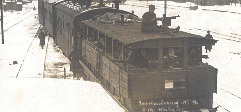 Ajakirjast Sõdur: Soomusrongid 1919. aasta algul Eestit vabastamas