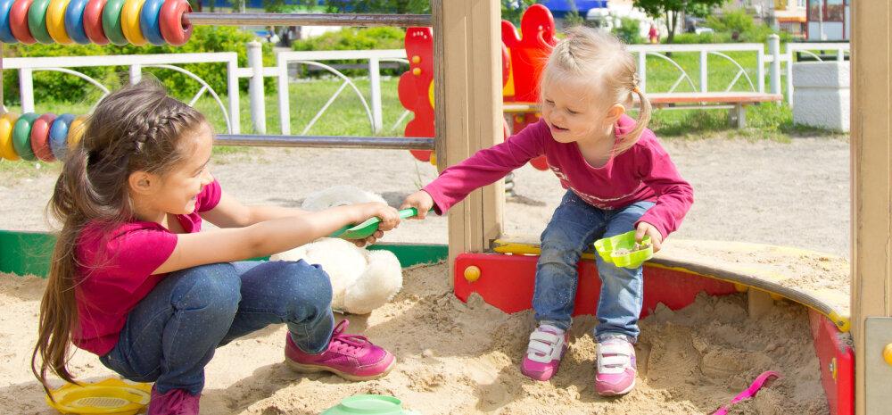 Lapsevanem: minu laps ei pea oma asju sinu lapsega jagama