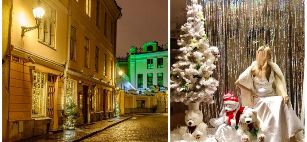 ФОТО: В Таллинне выбирают самые красивые рождественские окна и витрины. Голосуйте!