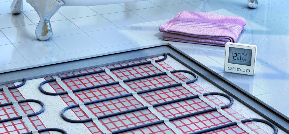 Mida peab teadma põrandaküttest ja erinevatest põrandakattematerjalidest?