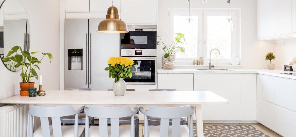 Kuidas sisustada kööki, mis oleks alati puhas ja mida on kerge korras hoida?