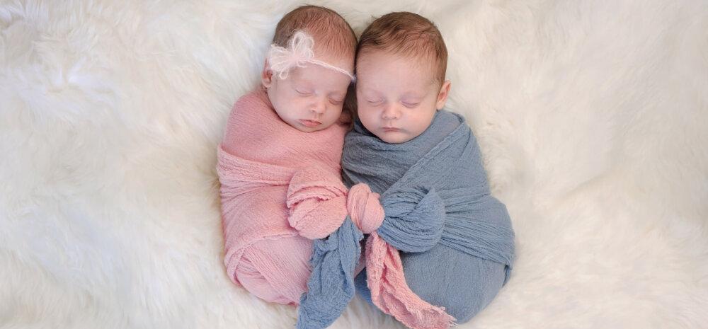 11cf0e5e02a Keskhaigla Sünnitusmajas sündis 2017. aastal 99 paari kaksikuid ...