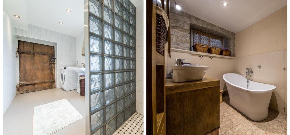 Müügis olevad kodud, kus on äge vannituba — nopime sisustusideid