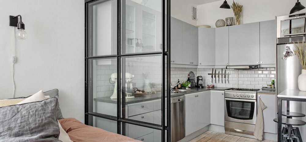 ФОТО | Как совместить кухню и спальню? Находчивое решение для маленькой квартиры
