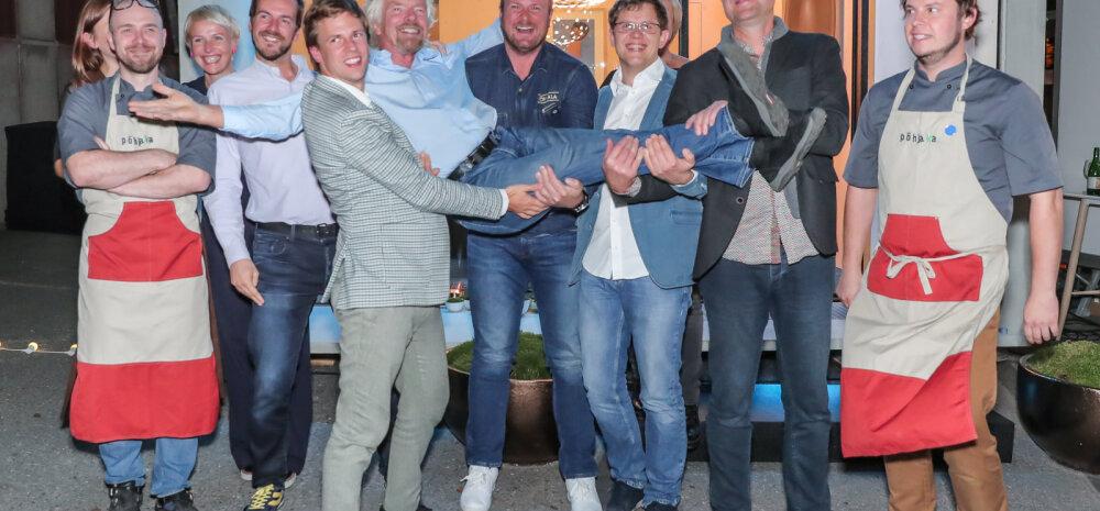 PILTUUDIS | Eesti äritegelased kohtusid miljardär Richard Bransoniga