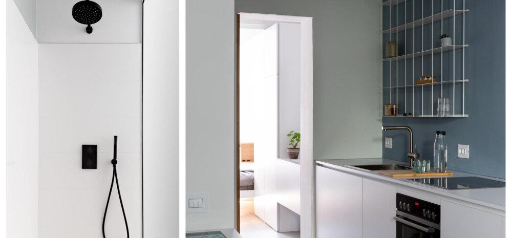 FOTOD │ 40 ruutmeetrit puhast minimalismi