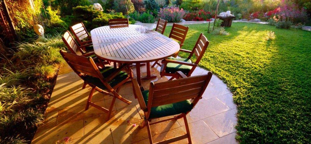 НАШ САД │ Выбираем правильную садовую мебель, чтобы отдыхать и телом, и душой