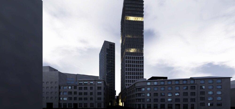 ФОТО | На пустыре в центре Таллинна хотят построить 30-этажный небоскреб