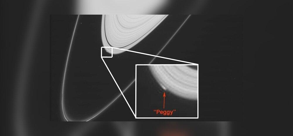 Peggy asub Saturni A-rõnga välisserval