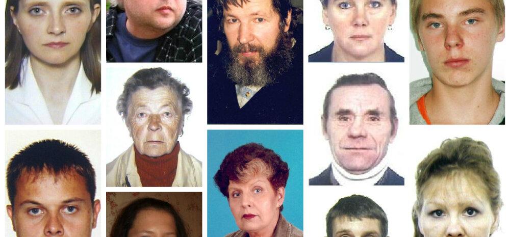 KUS NAD ON? Eestis on 1990ndate algusest teadmata kadunud pool tuhat inimest
