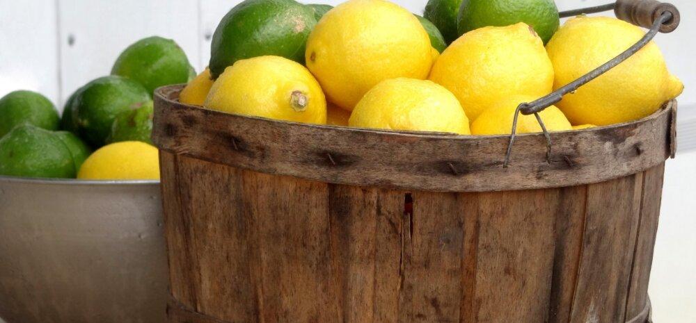 20 viisi, kuidas sidrunimahla oma tervise heaks kasutada