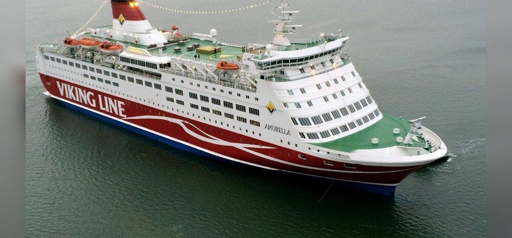 Viking Line'i Amorellal viibinu: info jagamisega oli probleeme, õhus oli tunda segadust ja hirmu