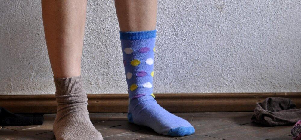 Лайфхак для одинокого носка: как просто и оригинально избавиться от пыли