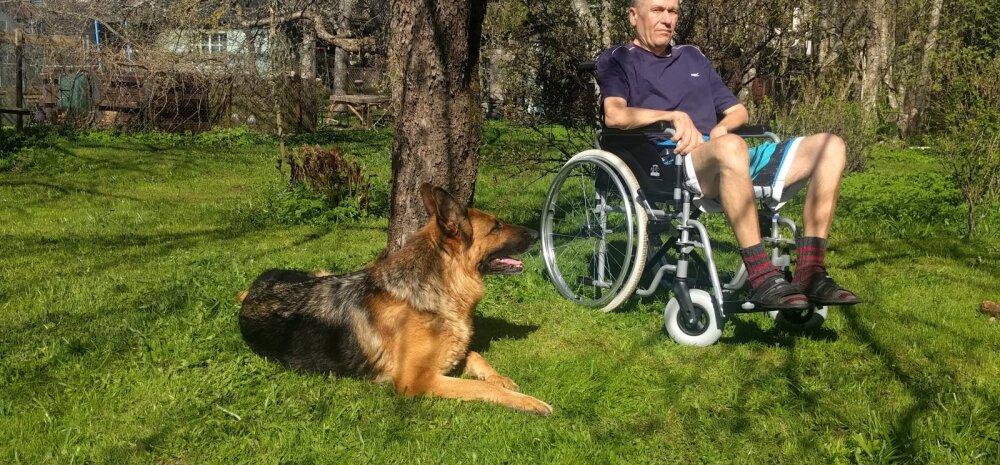Aastaga pöidla tuimusest ratastooli: raske ja kiiresti progresseeruva haigusega võitlev pereisa Indrek vajab abi, et pääseda Hiinasse ravile