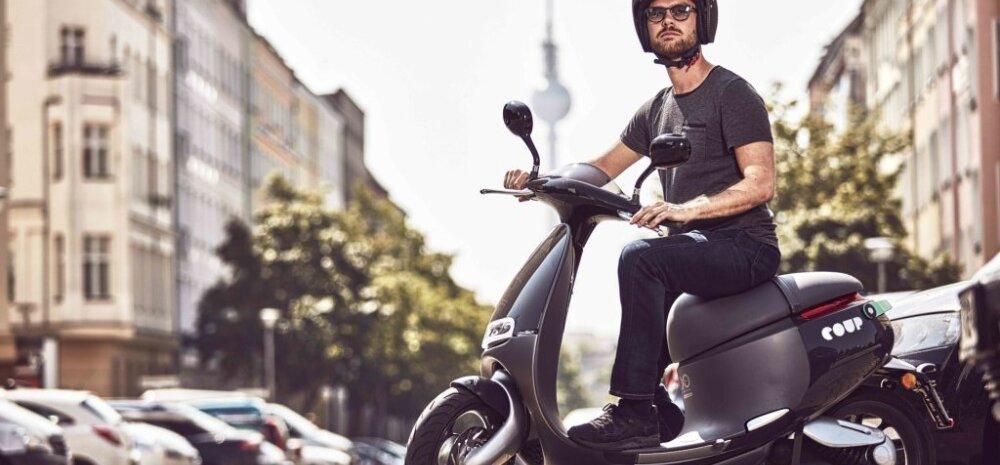 """Gogoro, elektrirollerite """"Tesla"""" vallutab Berliini uudse jagamisteenusega"""