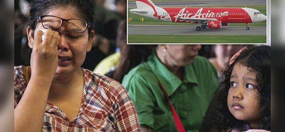 Singapuri teel olnud AirAsia lennuk 162 inimesega pardal haihtus radaripildilt