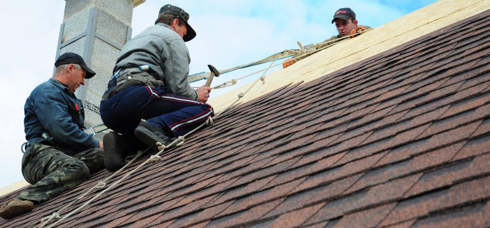 Seitse hoiatavat märki, et maja katus on omadega läbi