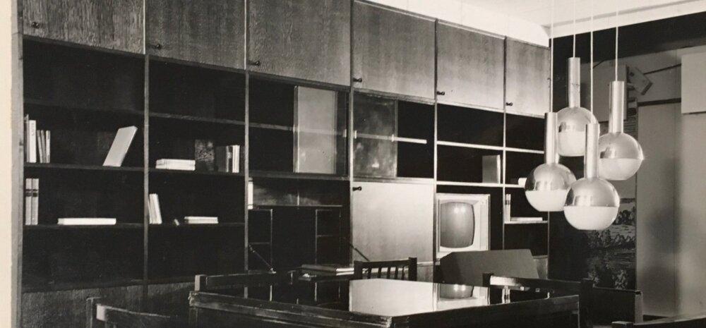 Teno Velbri ja Are Kala disainitud elutoa seeria 1971. aastast.