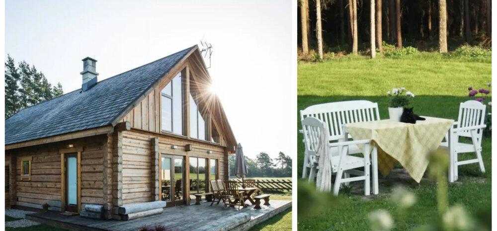 Lummavad suvekodud Eestimaa eri nurkades, mida puhkuseks üürile võtta