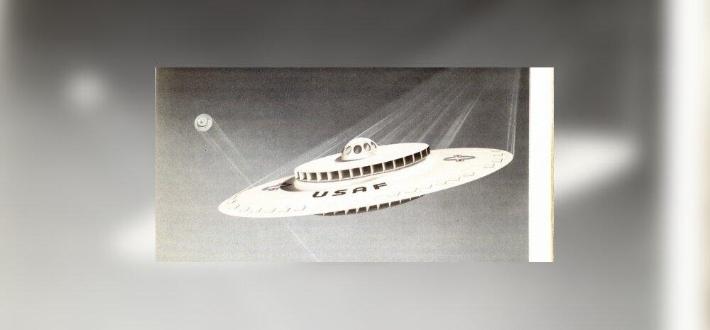 USA rahvusarhiiv avaldas 1950. aastate lendava taldriku joonised