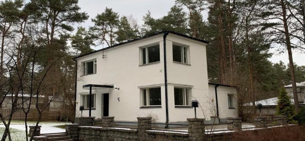 ФОТО │ На продажу выставлен дом легендарного эстонского банкира, известного своими финансовыми махинациями