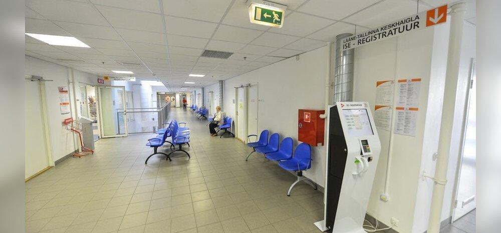 DELFI FOTOD ja VIDEO: Arstid lahkusid tööpostilt