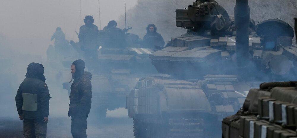 Ukraina jagas andmeid Vene vägedest Donbassis
