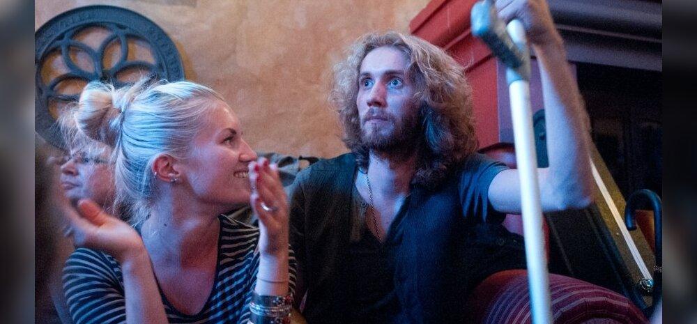 Mikk Tammepõld koos kallima Kadi Freyaga