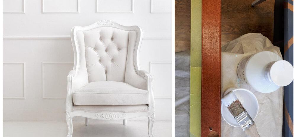 TEE ISE | Kõik, mida tasub teada mööbli valgeks värvimisest