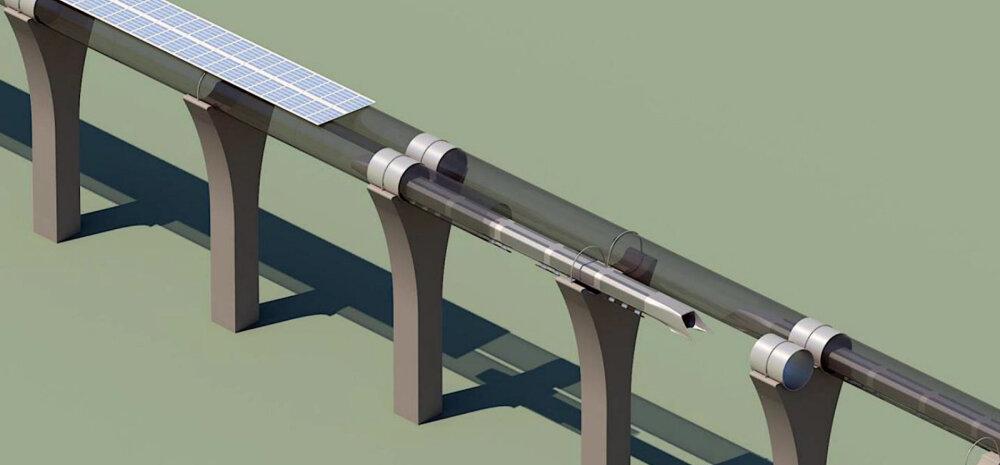 Kesk-Euroopasse plaanitakse ülikiiret Hyperloopi transporditoru