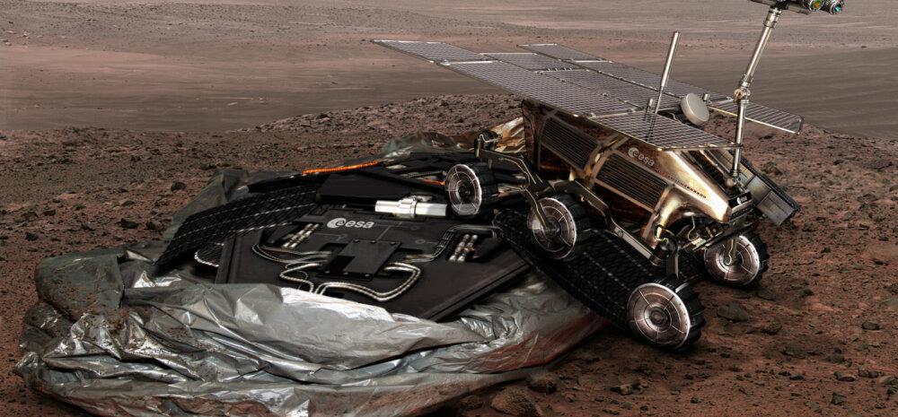 Euroopa ja Venemaa ühine Marsi-projekt komistas rahapuuduse otsa