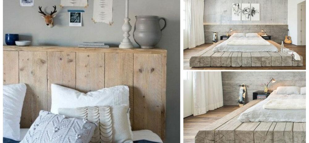 Tee järele — 12 lahedat ise tehtud voodit!