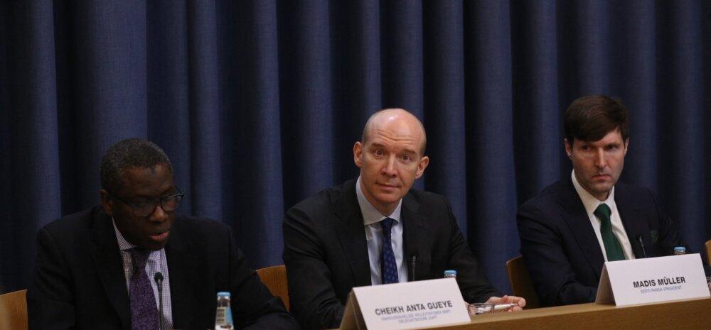 FOTOD ja VIDEO   IMF andis ülevaate Eesti majandusest. Nad soovitavad valitsusel jätta teine pensionisammas kohustuslikuks