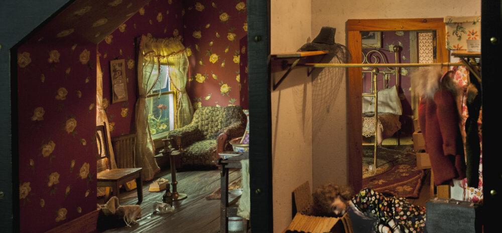 ЖУТКИЕ ФОТО | Пенсионерка создала кукольные дома, навевающие ужас. Теперь ее знает весь мир