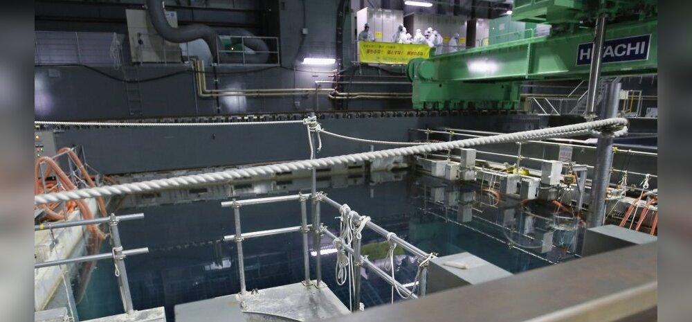 Purunenud Fukushima tuumajaama veemahutis hukkus tööline
