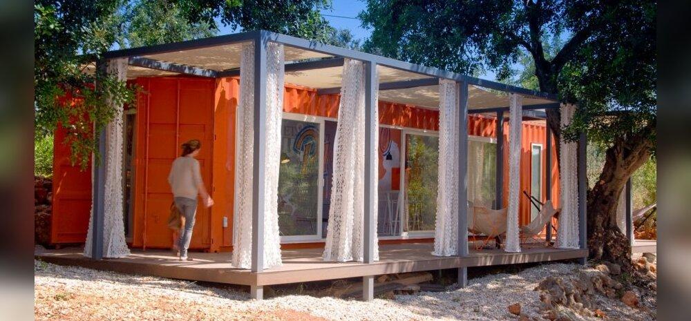 Nomad living. Läbimõeldud konteinerelamu.