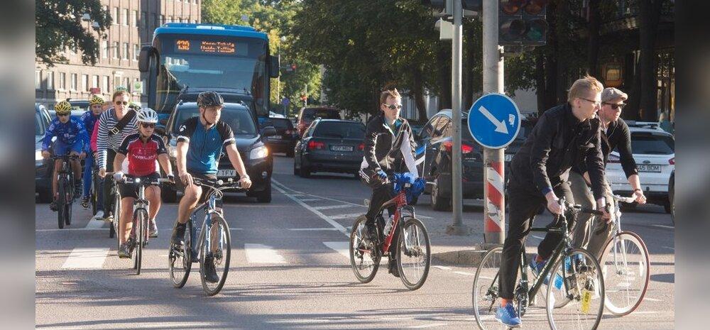 Tipp d'Und - jalgratturid kesklinna liikluses