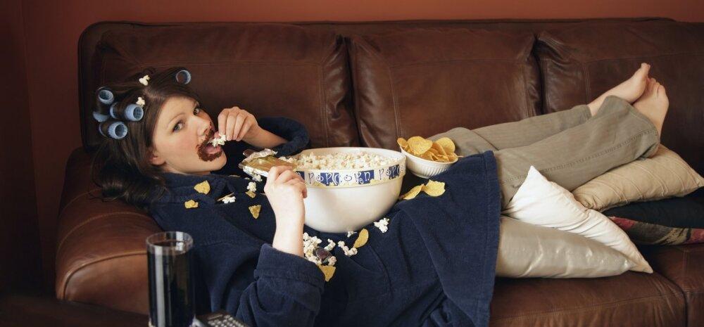 Issand, kui piinlik mul on! Jälle sõin liiga palju, miks ma seda tegin?
