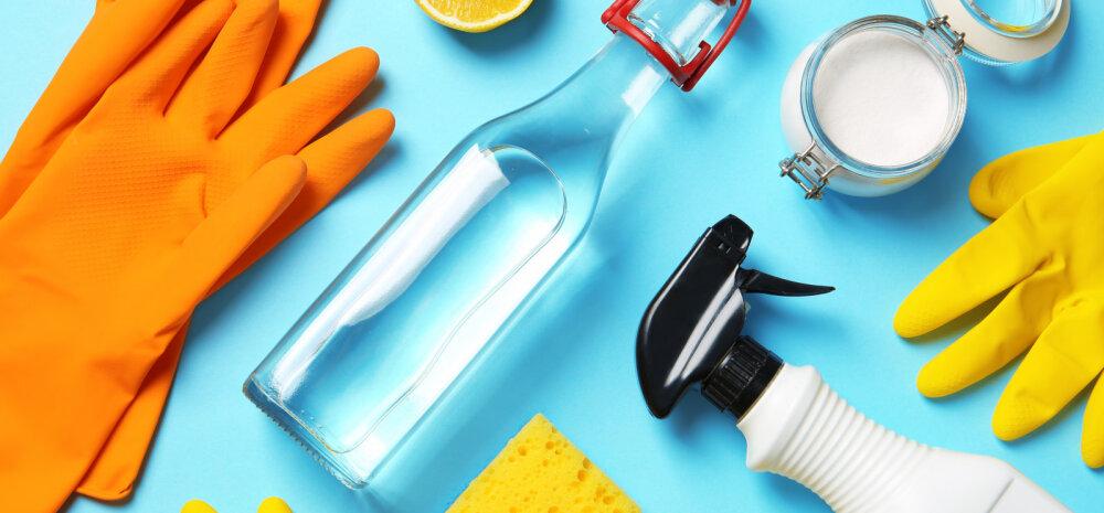 Milliste puhastusvahenditega saab kõige paremini koroonaviiruse vastu võidelda? Millistest ei ole vähimatki kasu?