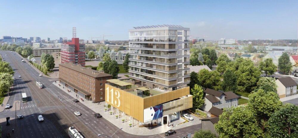 """ФОТО   """"Зеленая архитектура"""". В Таллинне появится уникальное высотное здание, отвечающее принципам экологии"""